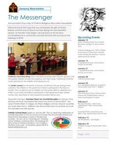 thumbnail of Religious ed -January Newsletter v2 (2)