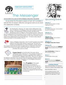 thumbnail of February Newsletter