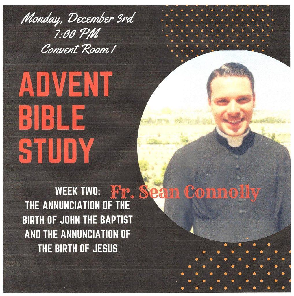 Advent Bible Study @ Convent Room 1
