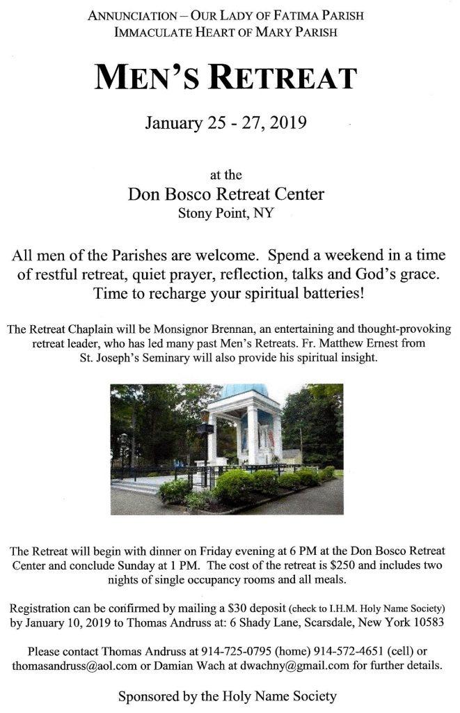 HNS Men's Retreat @ Stony Brook, NY