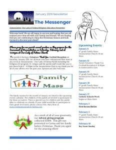 thumbnail of Religious Ed Newsletter- Jan2019