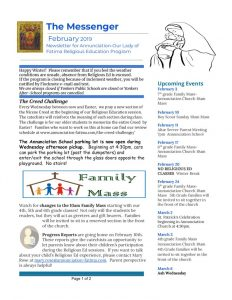 thumbnail of religiousednewsletterfeb2019