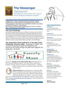 thumbnail of religiousednewsletterfeb2019