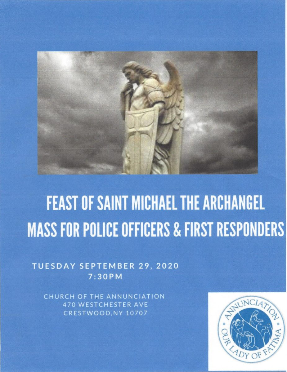 Mass for Police & 1st Responders @ Annunciation Church