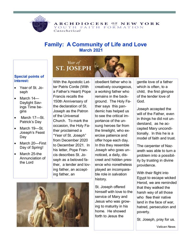 thumbnail of Catechetical-Family-Newsletter-March-2021 (1)