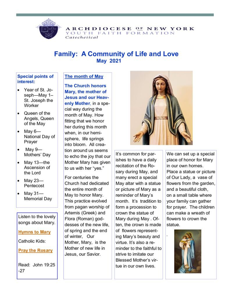 thumbnail of Catechetical-Family-Newsletter-May-2021