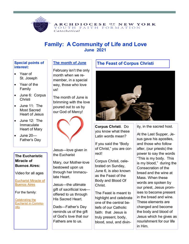 thumbnail of Catechetical-June-2021-Family-Catechesis-Newsletter
